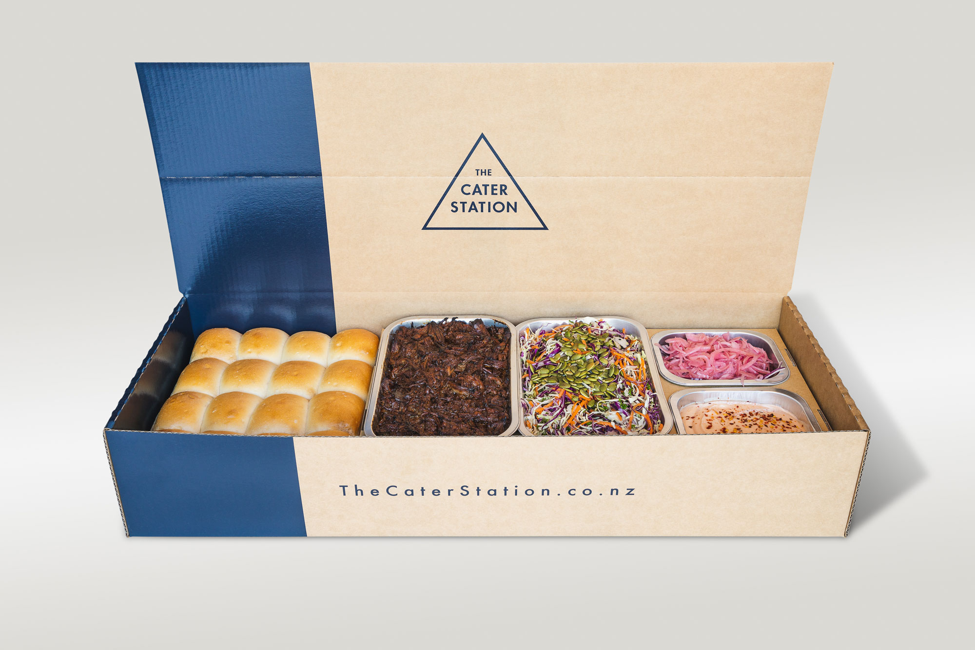 The Cater Station | Cab Creative